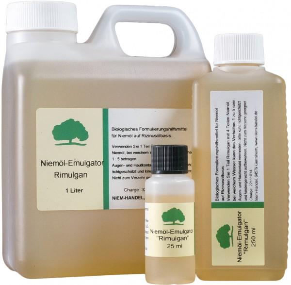 Rimulgan, Emulgator für Niemöl