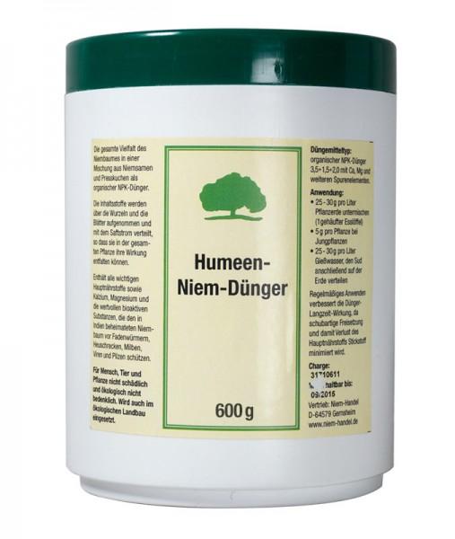 Humeen Niem Dünger (Neem Dünger), 600 g