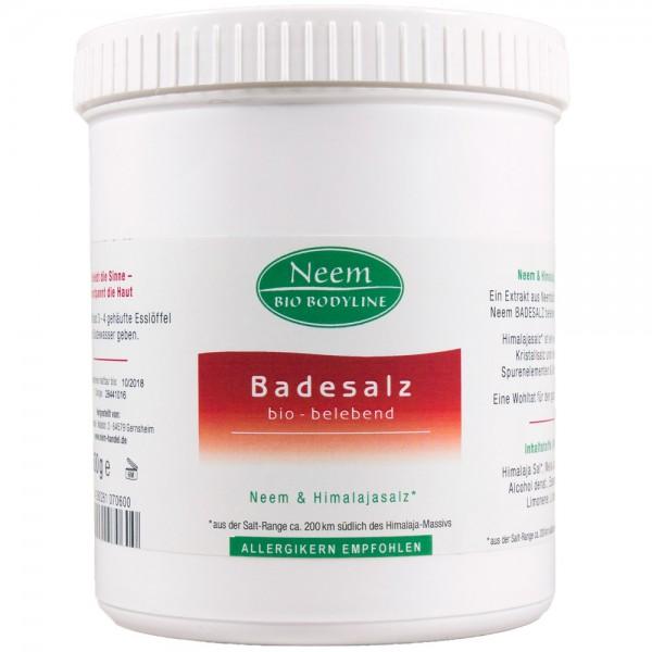 Neem Bio Bodyline Badesalz, 600 g