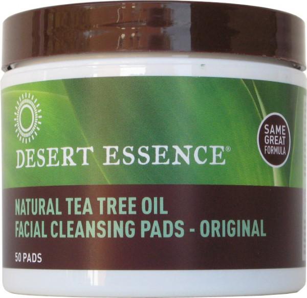 Desert Essence Reinigungspads, 50 Stück