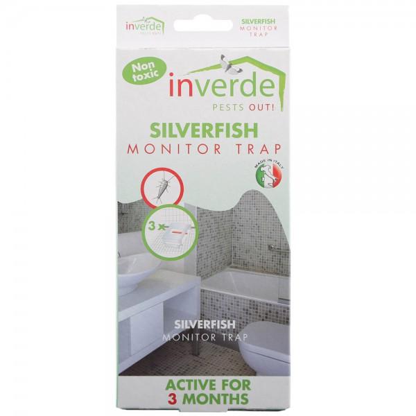 Klebefallen gegen Silberfischchen, 3 Stk.