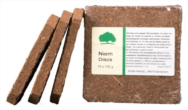 Niem Discs (Neem Discs), 10 Stück à ca. 100 g