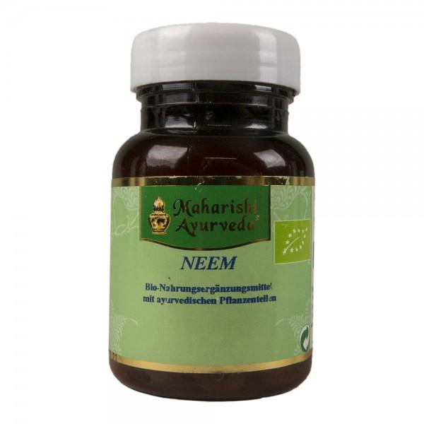 Neem Bio-Nahrungsergänzungsmittel, 60 Tabletten