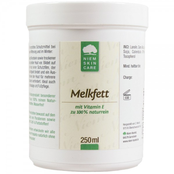 Melkfett, 250 ml